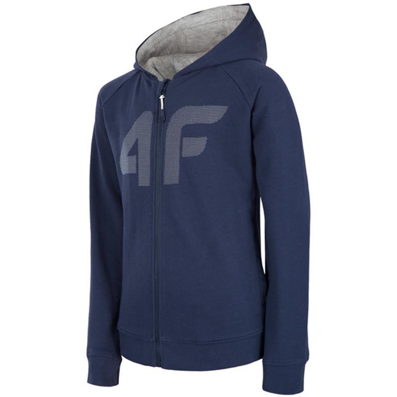 4F JBLM003 Mikina tmavě-modrá  9120202547